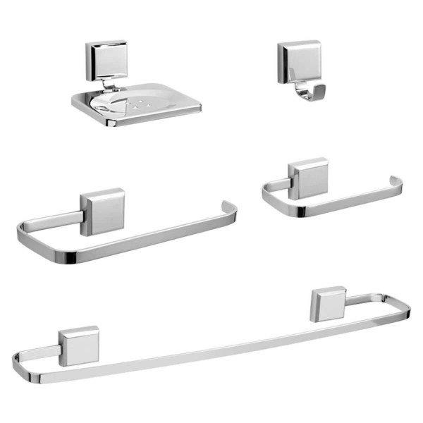 kit de acessorio para banheiro art cromado blukit 9081 3 20161116203520