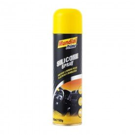 Silicone Spray 300ml / 150g P/ Carro, Moveis, Esteira Mundial Prime