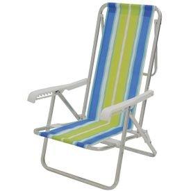 cadeira alta de aluminio