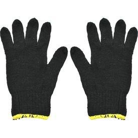 luva tricotada preta semmpigmento