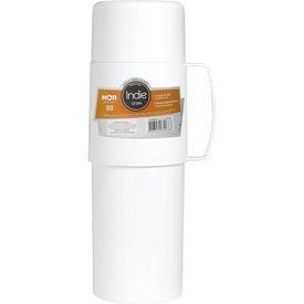 garrafa termica indie branca 01litro 1