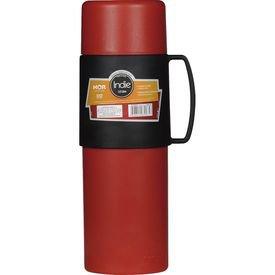 garrafa termica indie vermelha 01litro