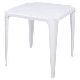 mesa plastica bela vista branca