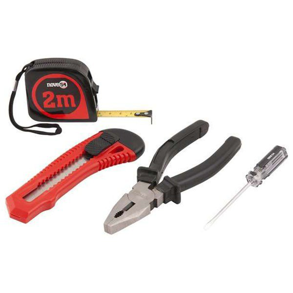 kit ferramentas 04 pecas