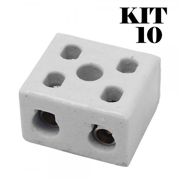 kit 10 conectores fertak