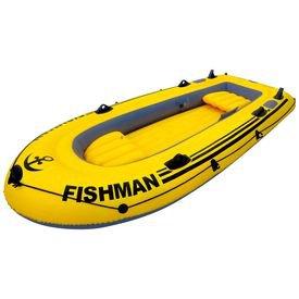 bote inflavel fischman amarelo 305 mor