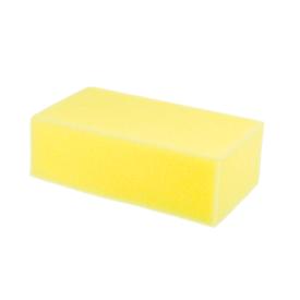bloco de espuma amarelo