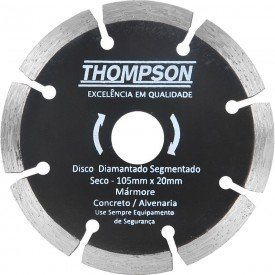 disco diamantado segmentado 105x20 thompson