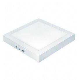 plafon led quadrado sobrepor 12017