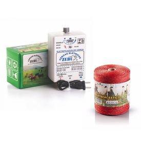 kit eletrificador zebu fio eletroplastico 500m leranja 6249 6248 6251