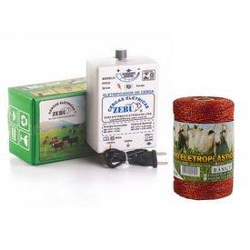 kit eletrificador zebu fio eletroplastico 200m leranja 6249 6248 6250
