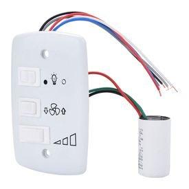 controle de ventilador capacitivo branco aplacel