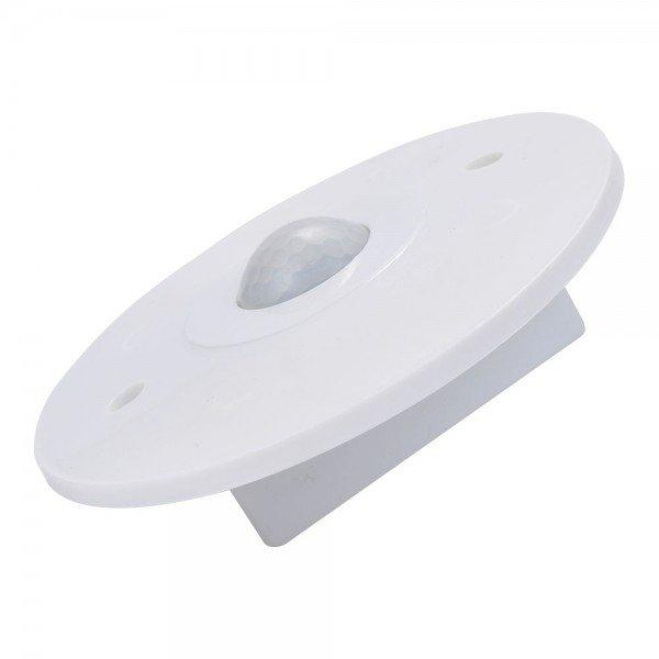 sensor de presenca redondo embutir branco bivolt ldr aplacel