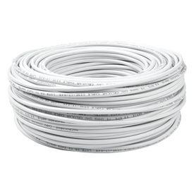 cabo coaxial branco serie 59 100m megatron megacabos
