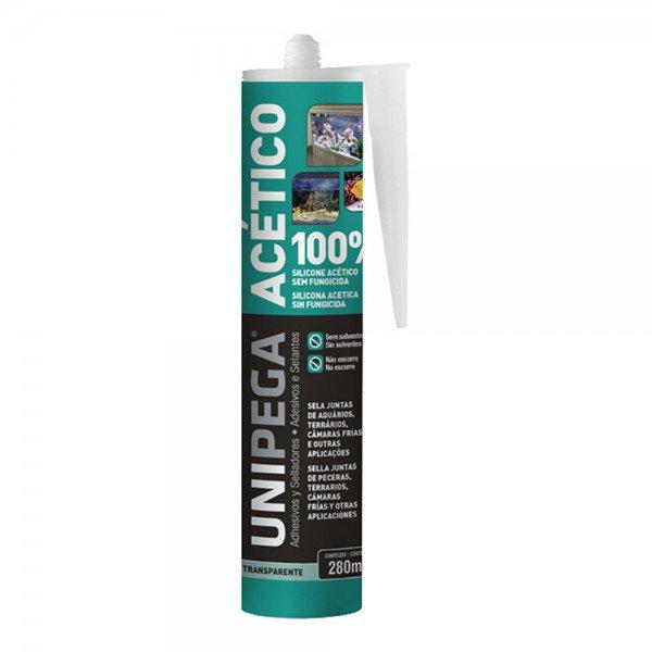 silicone acetico para aquarios transparente 12076