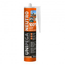 silicone neutro multiuso incolor 280ml unipega 12093