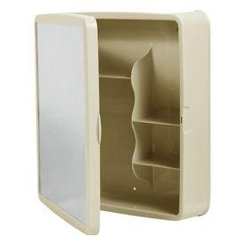 armario banheiro plastico bege sintex 6351