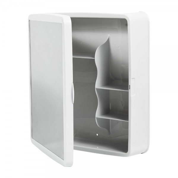 armario banheiro plastico branco sintex 6350