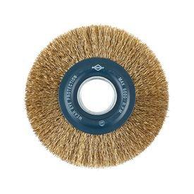 escova de aco circular ondulada 6x3 4 com reducao brasfort 4500
