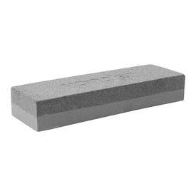 pedra para afiar retangular 6 152mm dupla face grossa e fina vonder 3180