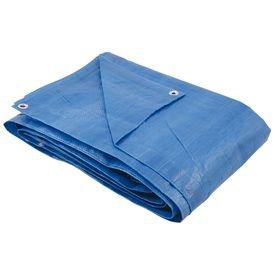 lona de polietileno azul 100 micra com ilhos nove54