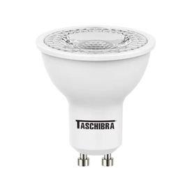 lampada led dicroica mr16 tdl 40 5 5w 6500k gu10 taschibra 12713