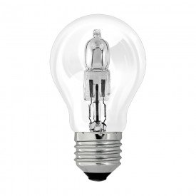 lampada incandescente halogena a55 28w taschibra 8669