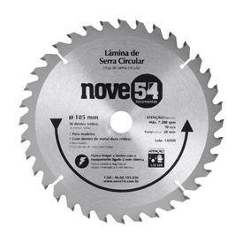 lamina de serra circular 7 1 4 36 dentes 185 mm x 20 mm nove54 4928