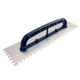 desempenadeira de aco dentada com cabo plastico 12 cm x 48 cm thompson 7289