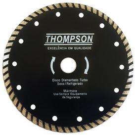 disco diamantado turbo 230 mm x 22 23 mm thompson 8356