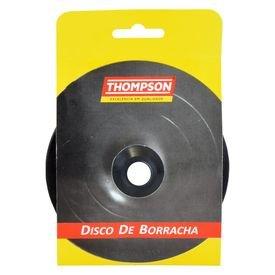 disco de borracha para esmerilhadeira 4 1 2 preto thompson