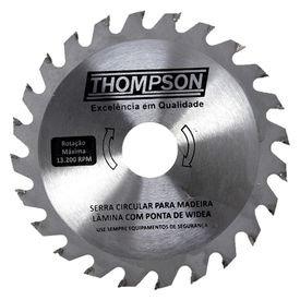 lamina de serra circular para madeira 9 1 4 24 dentes 235 mm x 25 4 mm thompson 9877