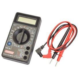 multimetro digital profissional com visor lcd thompson 9914