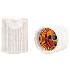 soquete receptaculo de porcelana th50 e 27 thompson 8359 2