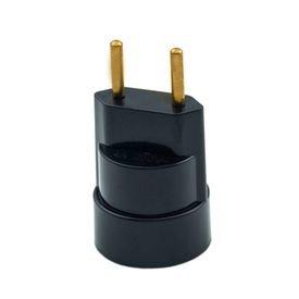 soquete adaptador termoplastico preto com plugue macho thompson 9924