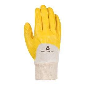 luva nitrili ka amarela tamanho 09 g deltaplus 6767