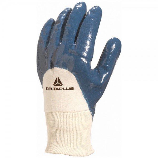 luva nitrilo nitrili ka azul tamanho 09 g deltaplus 892 1
