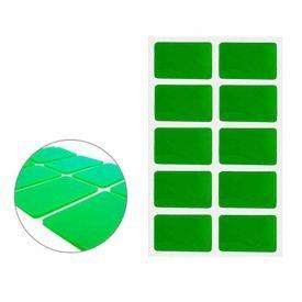 fita dupla face permanente adermax com 20 tabs transparentes de 40 mm x 25 mm adere 11947 1