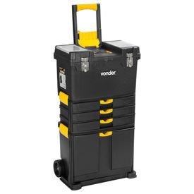 caixa de ferramentas plastica com rodas crv 0500 vonder 6105050000 hiperfer