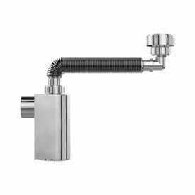 12814 1 sifao copo cromado parede para lavatorio 330 a 440 mm 031703 blukit