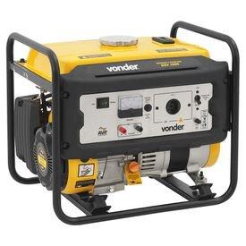 gerador de energia a gasolina ggv 1000 3 hp 1000 w vonder