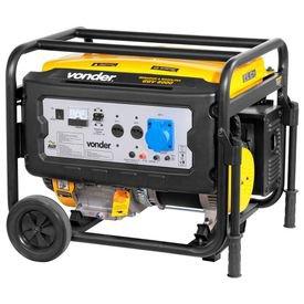 gerador de energia a gasolina 6000 w ggv 6000 vonder