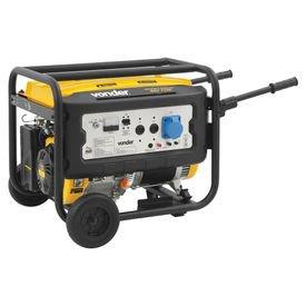 gerador de energia a gasolina 7100 w ggv 7100 vonder