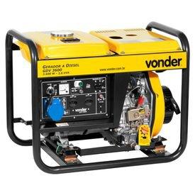 gerador de energia a diesel gdv 3600 7hp vonder