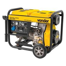 gerador de energia a diesel gdv 5500 10hp vonder
