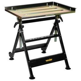 bancada mesa multiuso ajustavel de aco para soldador vonder