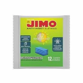 refil pastilha anti inset cartela com 12 unidades jimo
