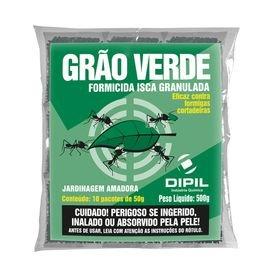 4655 formicida isca granulada 10 pacotes com 50g grao verde dipil