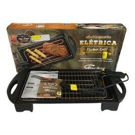11901 openbox 6 churrasqueira eletrica fischer grill 220v