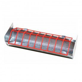 2760 4 comedouro linear tipo calha 30 cm com separadores zatti